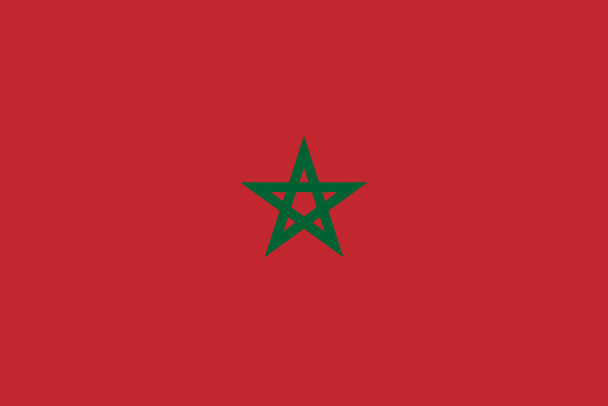 Drapeau du Maroc
